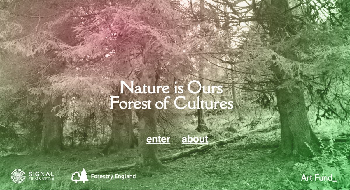 Nature is Ours: Forest of Cultures by Jessica El Mal