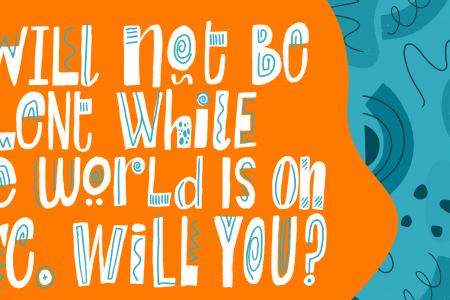 I will not be silent while the world is on fire Will you? film quote from Season for Change x Earth Day film