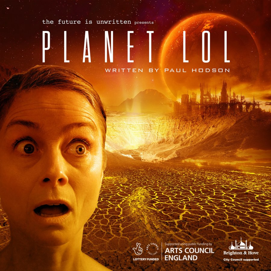 Graphic image of Planet LOL