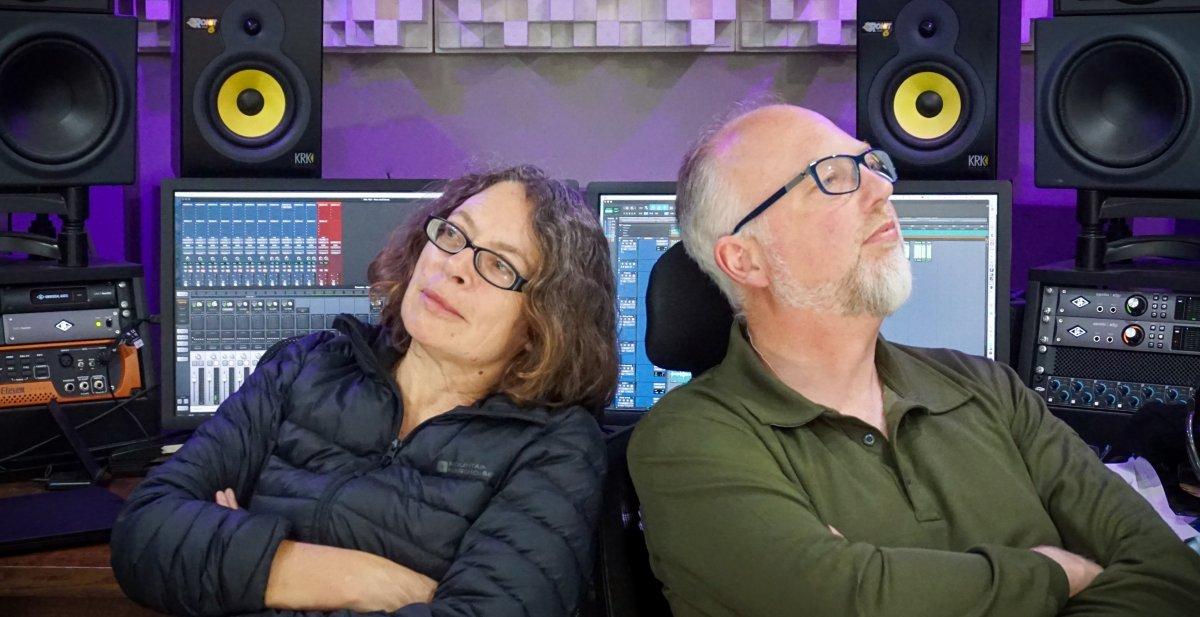Karen Wimhurst and Ed Bersey